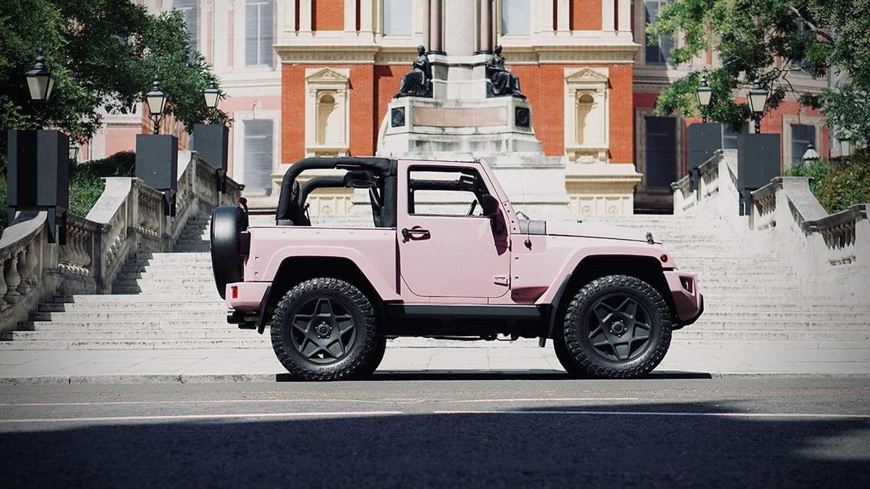 Chelsea Truck Company Jeep Wrangler Black Hawk Expedition Mum Car Profile