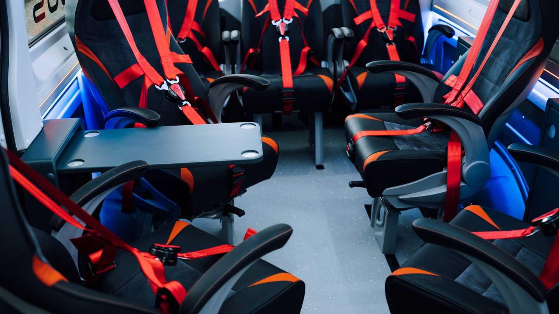 Torsus Terrastorm Bus Interior Seating