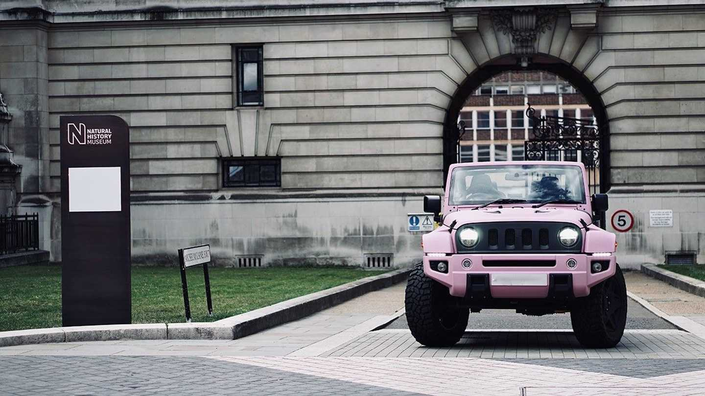 Chelsea Truck Company Jeep Wrangler Black Hawk Expedition Mum Car Front