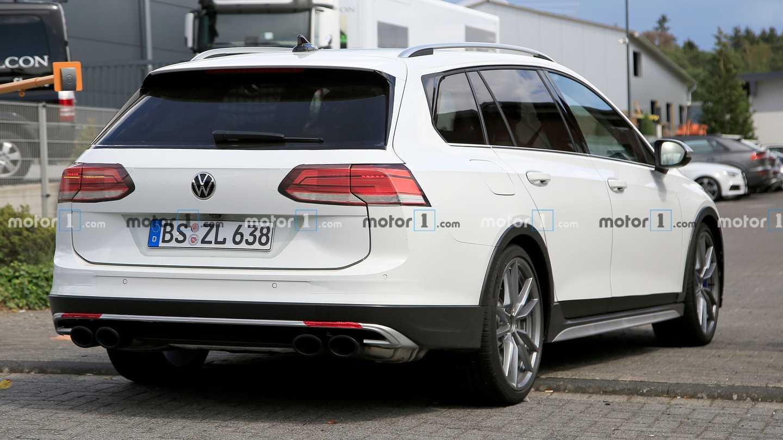 VW Golf R Estate Test Mule Back