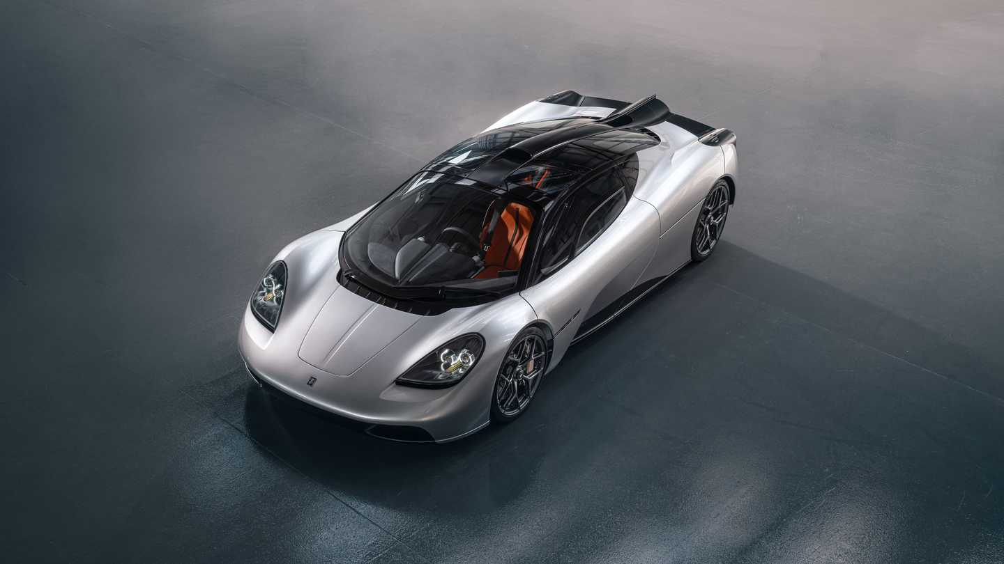 Gordon Murray Automotive T.50 Above Three Quarters