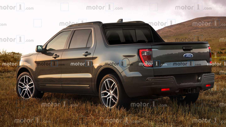 Ford Maverick Renderings Rear 3/4
