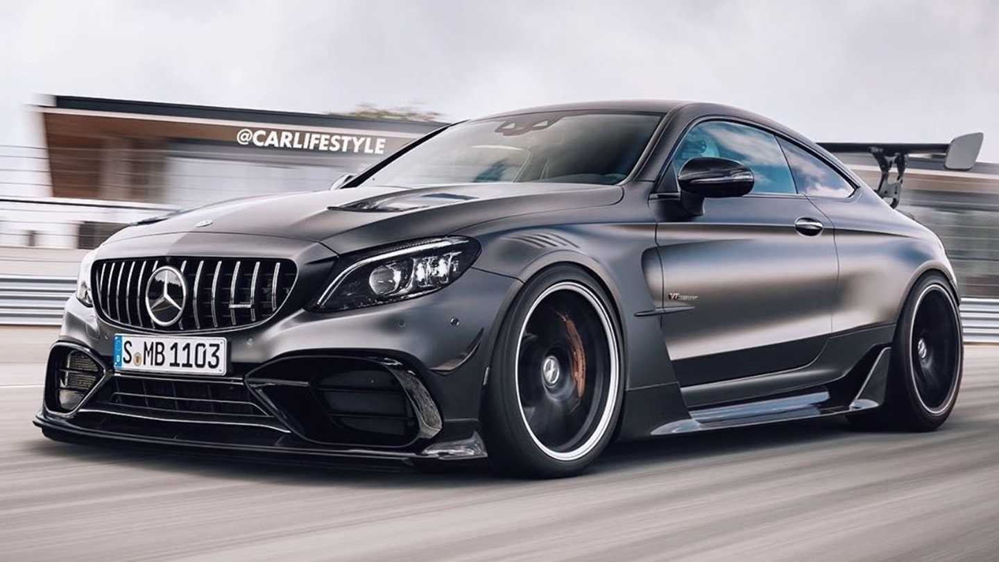 Mercedes-AMG Black Series Render