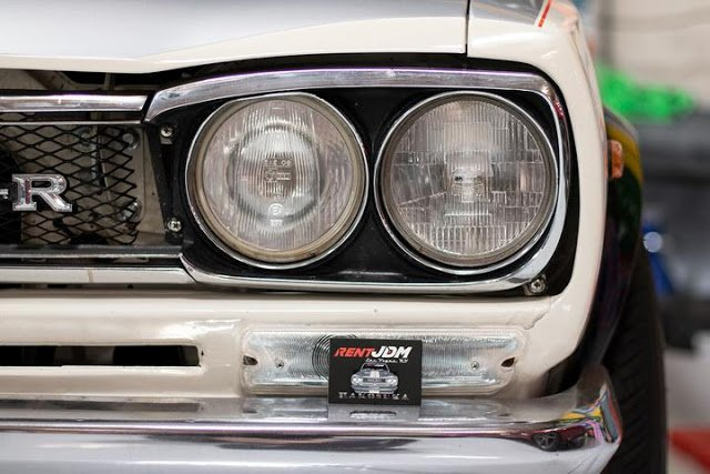 Hakosuka Nissan Skyline Metal Enamel Pin from RentJDM
